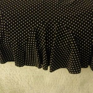 Claudia Richard Skirts - Pleated polka dot skirt